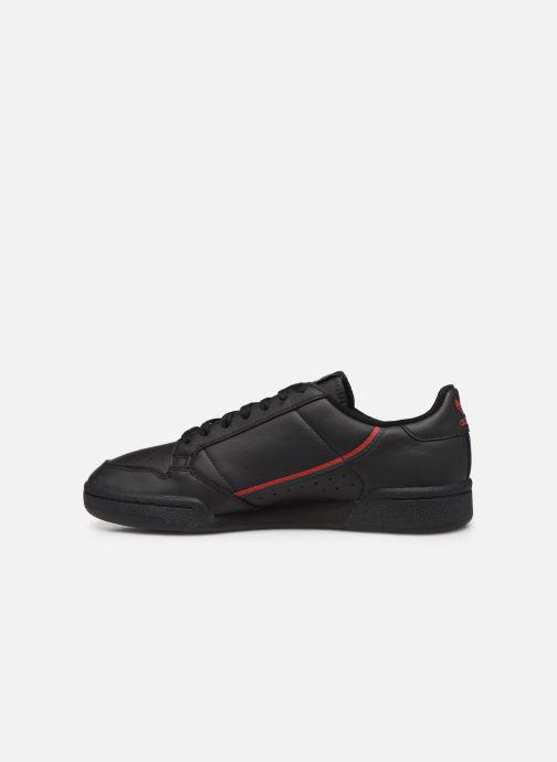 Sneakers adidas originals Continental 80 Nero immagine frontale