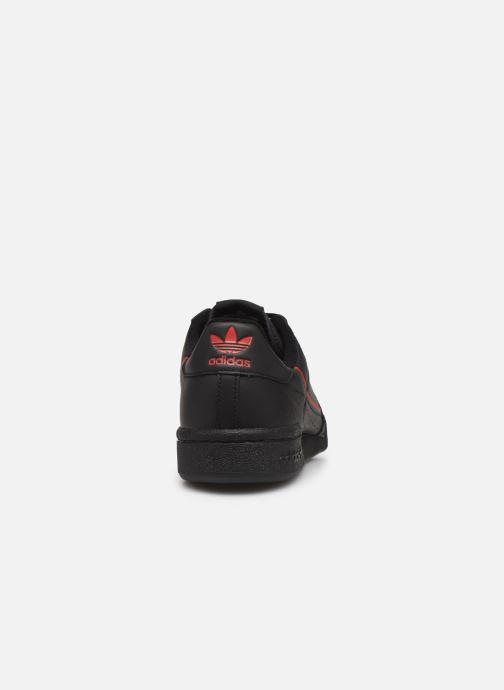Sneakers adidas originals Continental 80 Nero immagine destra