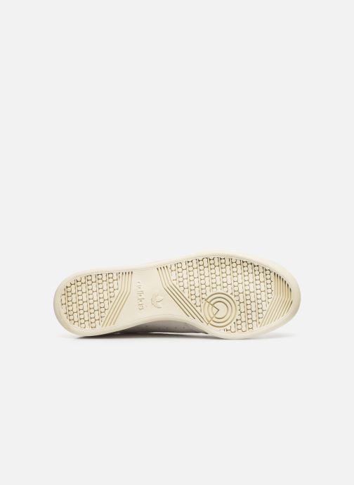 Baskets adidas originals Continental 80 Beige vue haut