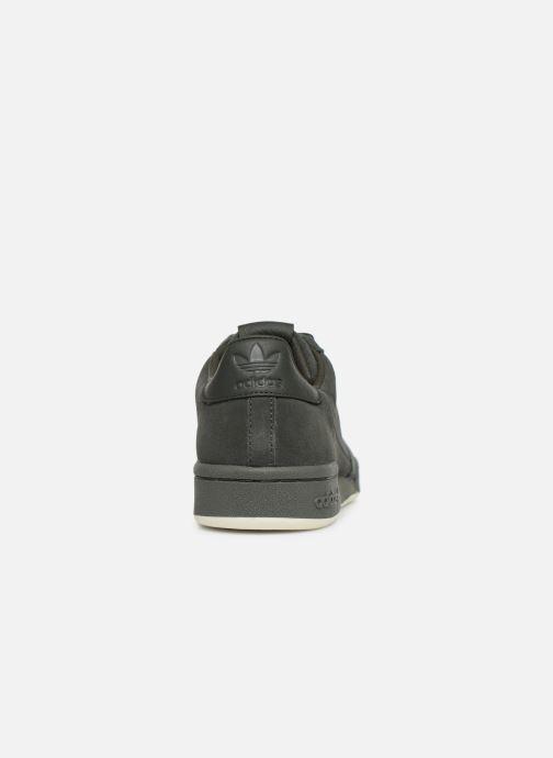 Sneakers adidas originals Continental 80 Groen rechts