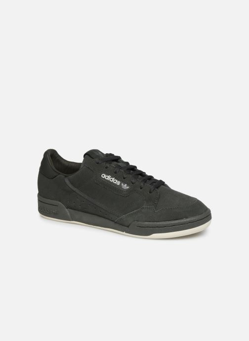 Baskets adidas originals Continental 80 Vert vue détail/paire