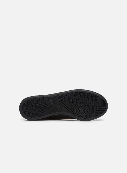Sneakers adidas originals Continental 80 Nero immagine dall'alto
