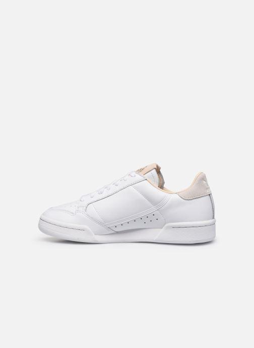 Sneakers adidas originals Continental 80 Vit bild från framsidan