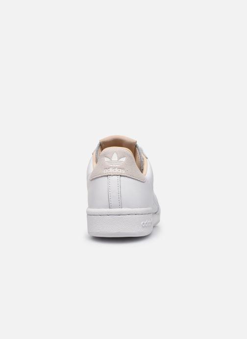 Sneakers adidas originals Continental 80 Wit rechts