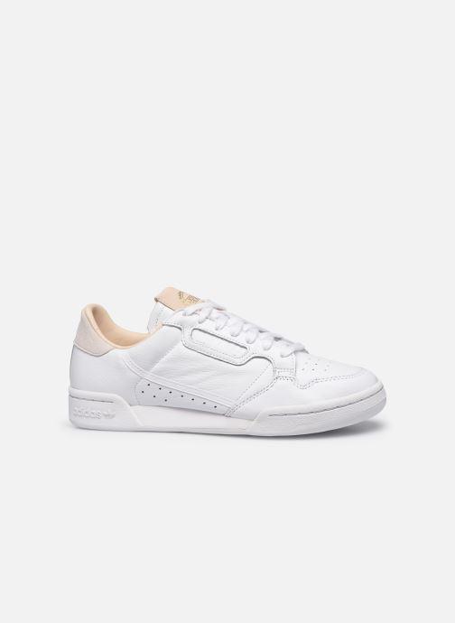 Sneakers adidas originals Continental 80 Vit bild från baksidan