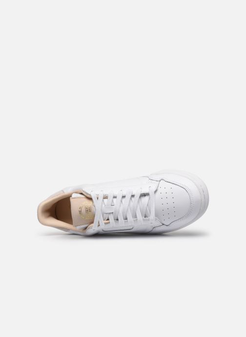 Baskets adidas originals Continental 80 Blanc vue gauche