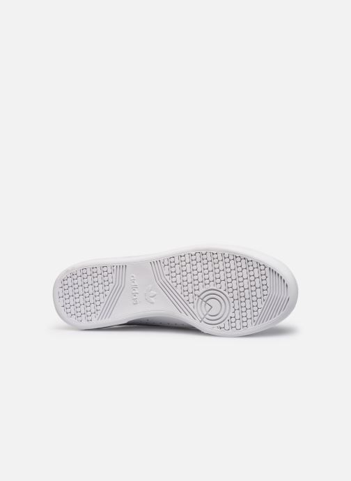 Sneaker adidas originals Continental 80 weiß ansicht von oben