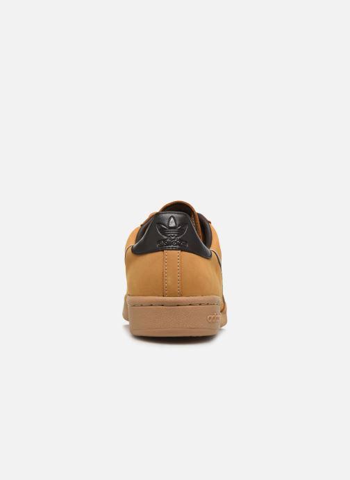 Sneakers adidas originals Continental 80 Marrone immagine destra
