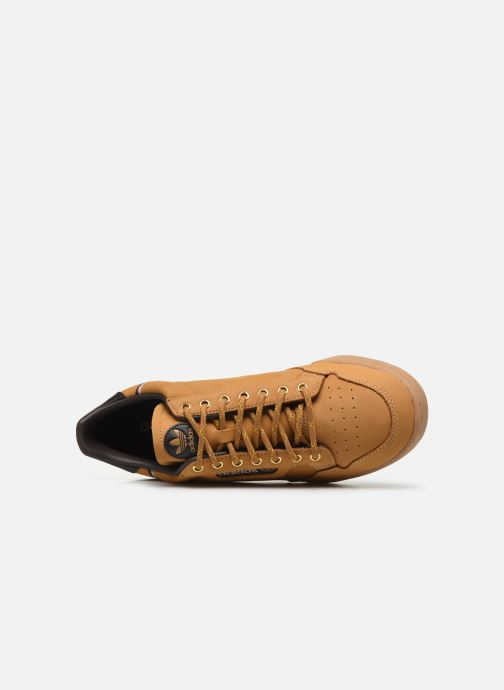 Sneakers adidas originals Continental 80 Marrone immagine sinistra