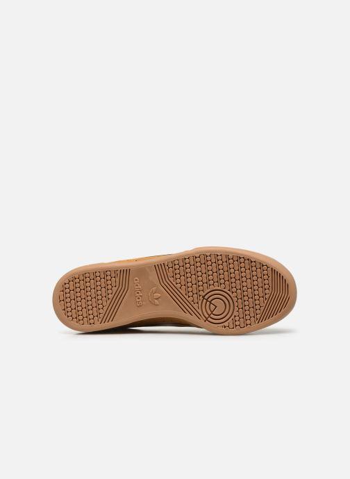 Sneakers adidas originals Continental 80 Marrone immagine dall'alto