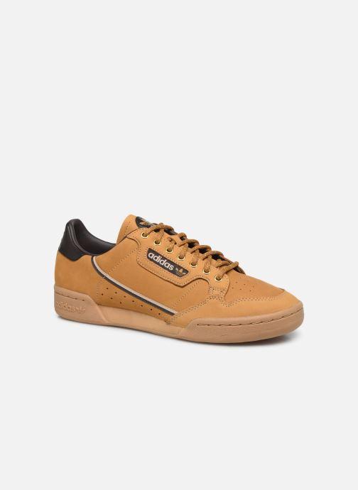 Baskets adidas originals Continental 80 Marron vue détail/paire