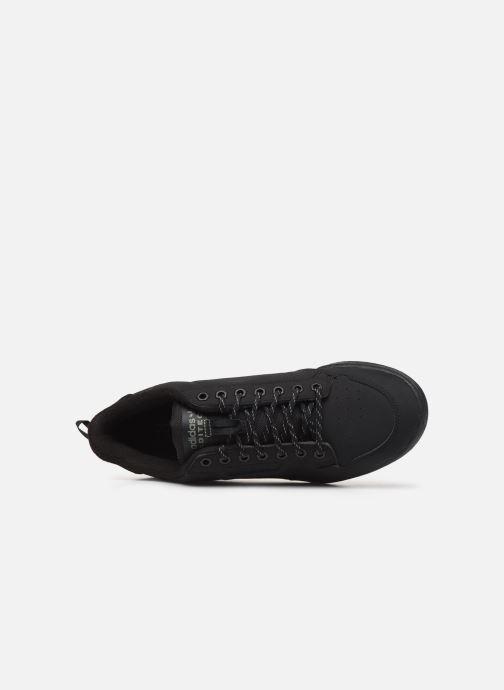 Baskets adidas originals Continental 80 Noir vue gauche