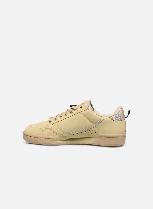 Baskets adidas originals Continental 80 Beige vue face