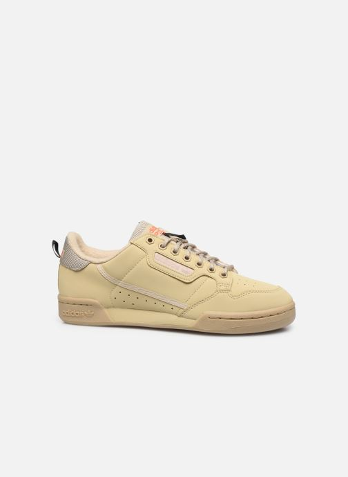 Baskets adidas originals Continental 80 Beige vue derrière