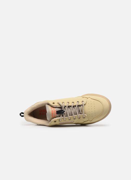 Baskets adidas originals Continental 80 Beige vue gauche