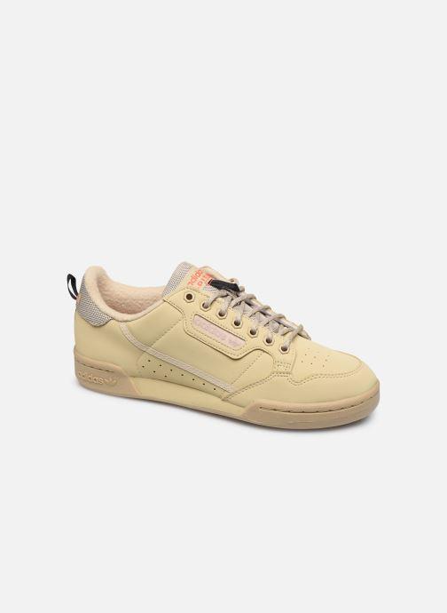 Baskets adidas originals Continental 80 Beige vue détail/paire