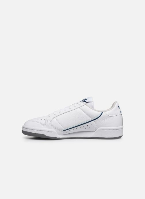 Baskets adidas originals Continental 80 Blanc vue face