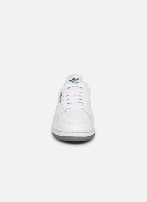 Deportivas adidas originals Continental 80 Blanco vista del modelo
