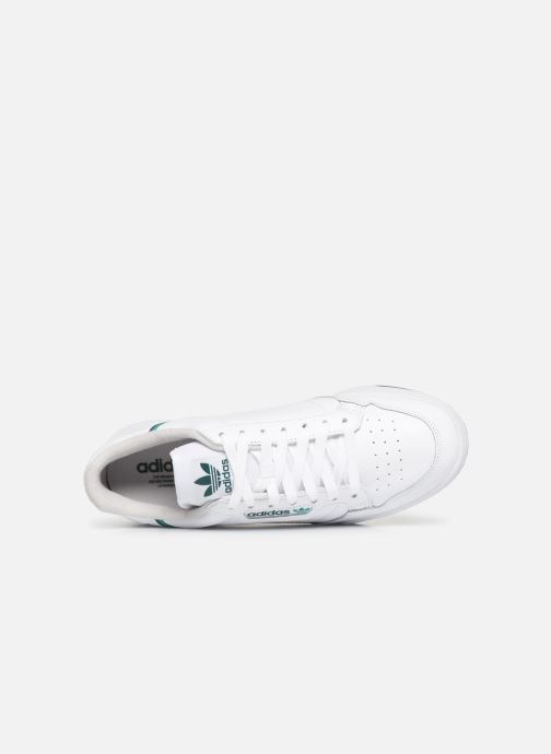 Sneakers adidas originals Continental 80 Wit links