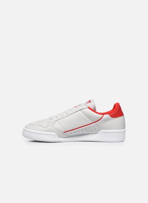 Sneaker adidas originals Continental 80 grau ansicht von vorne