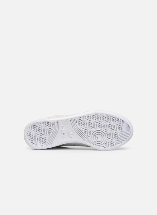Sneaker adidas originals Continental 80 grau ansicht von oben