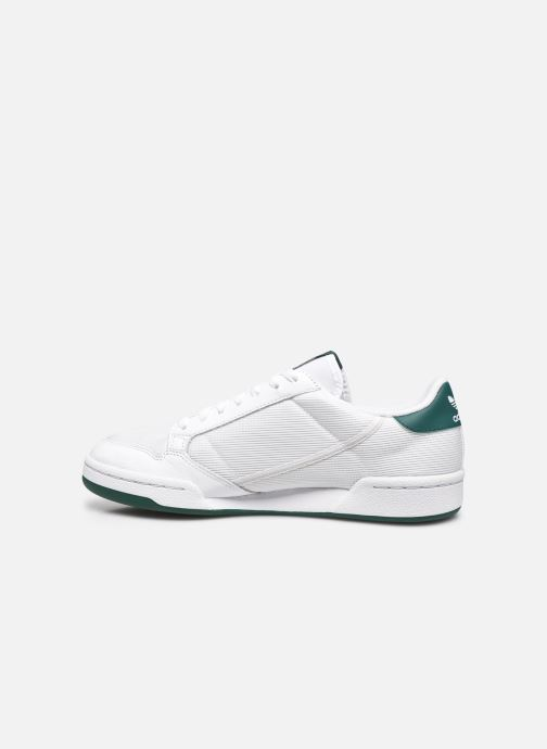 Sneakers adidas originals Continental 80 Bianco immagine frontale