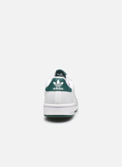 Baskets adidas originals Continental 80 Blanc vue droite