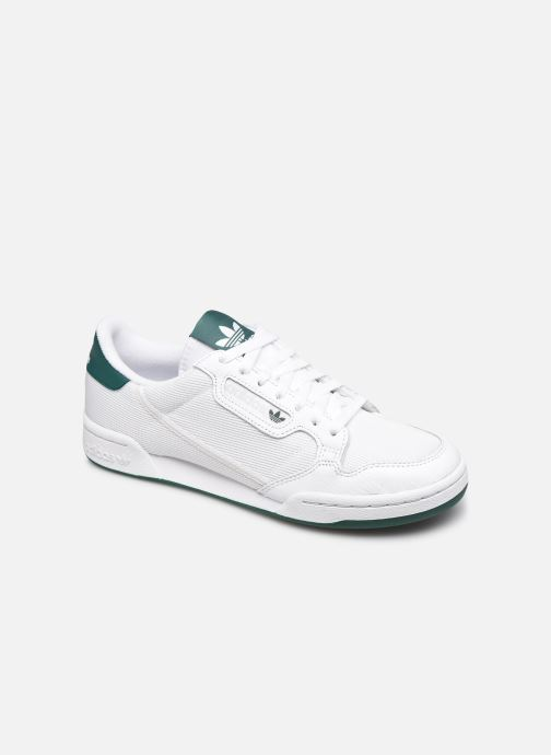 Baskets adidas originals Continental 80 Blanc vue détail/paire