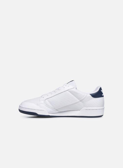 Deportivas adidas originals Continental 80 Blanco vista de frente