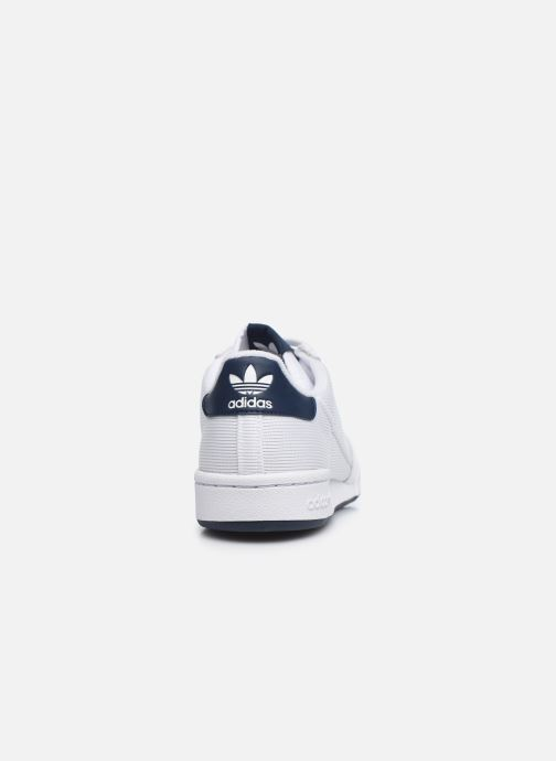 Sneakers adidas originals Continental 80 Bianco immagine destra