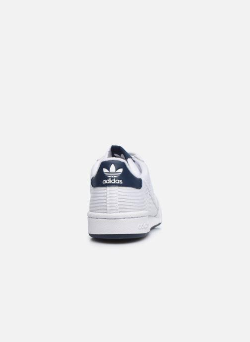Sneaker adidas originals Continental 80 weiß ansicht von rechts
