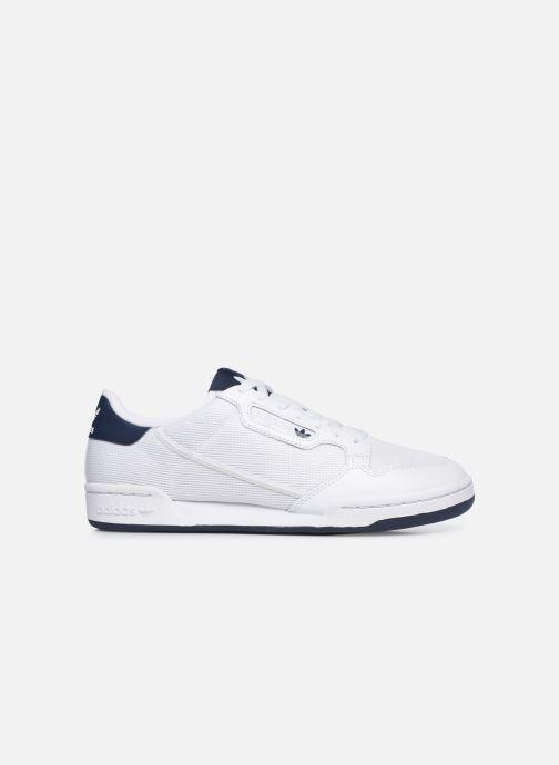 Baskets adidas originals Continental 80 Blanc vue derrière