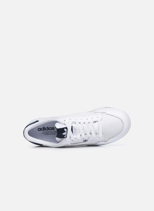 Sneaker adidas originals Continental 80 weiß ansicht von links