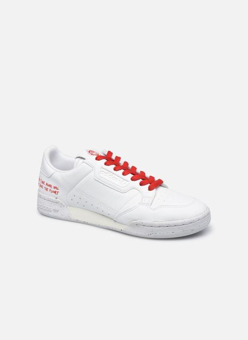Baskets adidas originals Continental 80 Blanc vue détail/paire