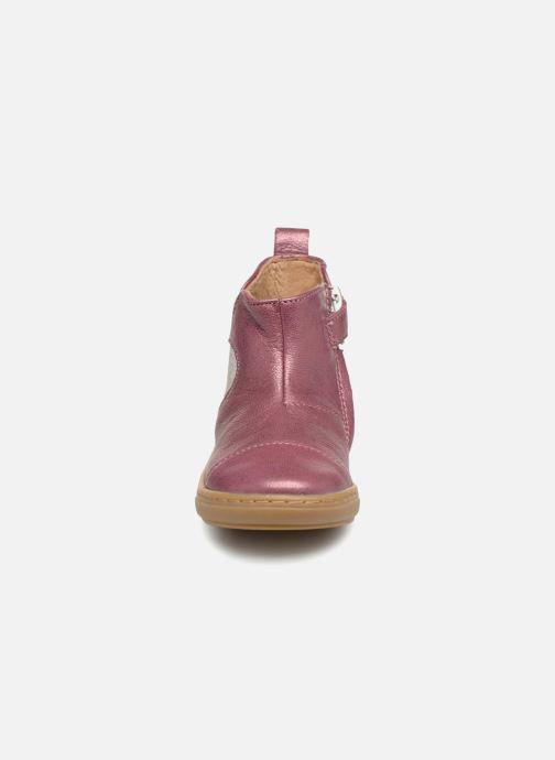 Stivaletti e tronchetti Shoo Pom Bouba Apple SZ Rosa modello indossato