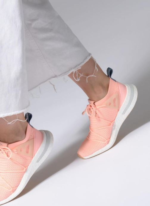 low priced f2be1 dac1e Trainers adidas originals Arkyn Pk W Pink view from underneath   model view