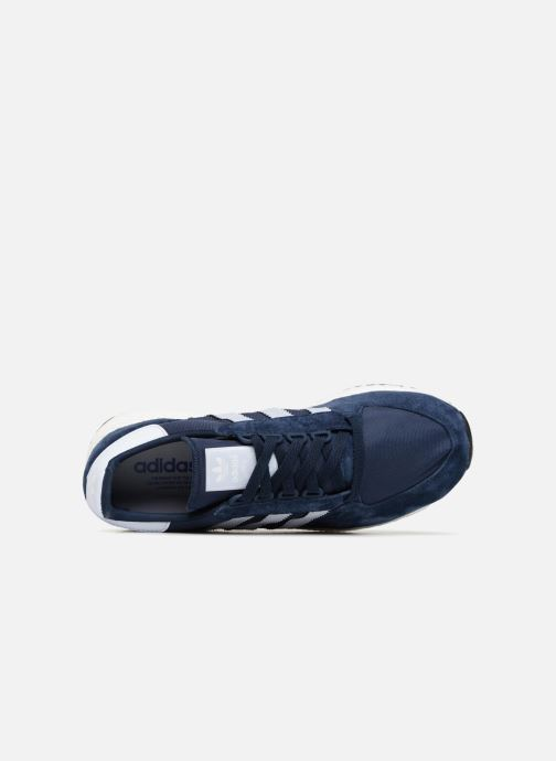 Baskets Adidas Originals Forest Grove Bleu vue gauche