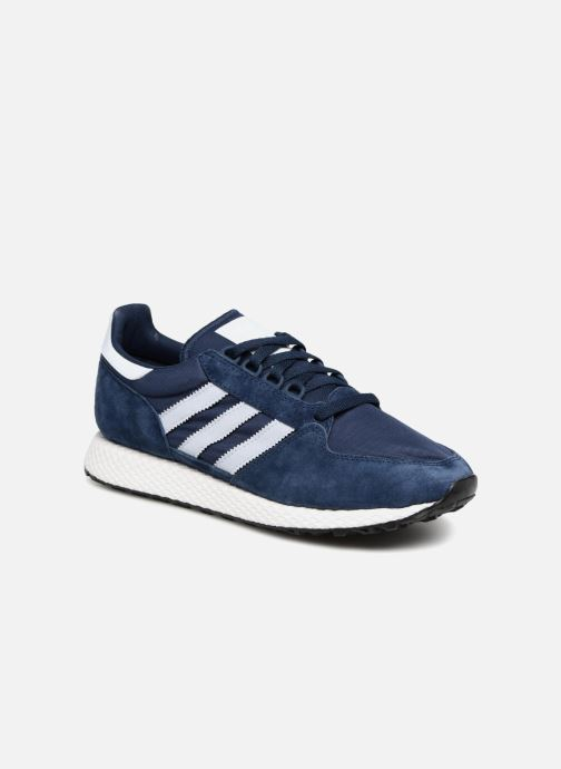 Baskets Adidas Originals Forest Grove Bleu vue détail/paire