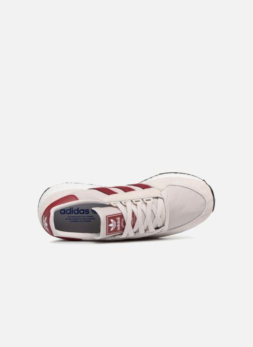 Sneaker adidas originals Forest Grove grau ansicht von links