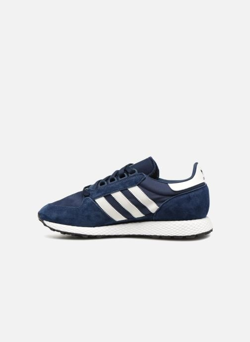 Baskets adidas originals Forest Grove Bleu vue face