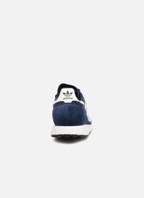 Baskets adidas originals Forest Grove Bleu vue droite
