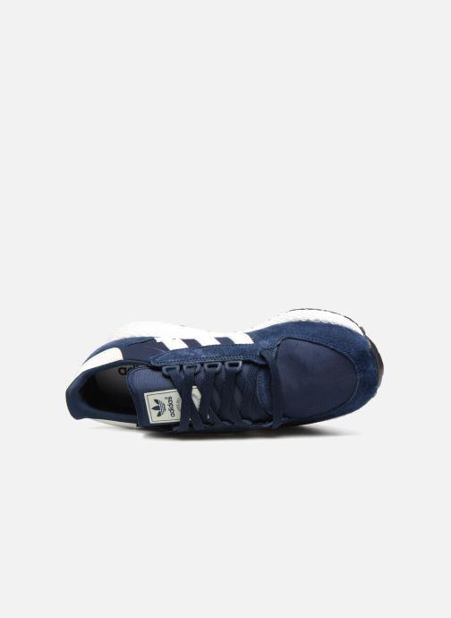 Sneaker Adidas Originals Forest Grove blau ansicht von links