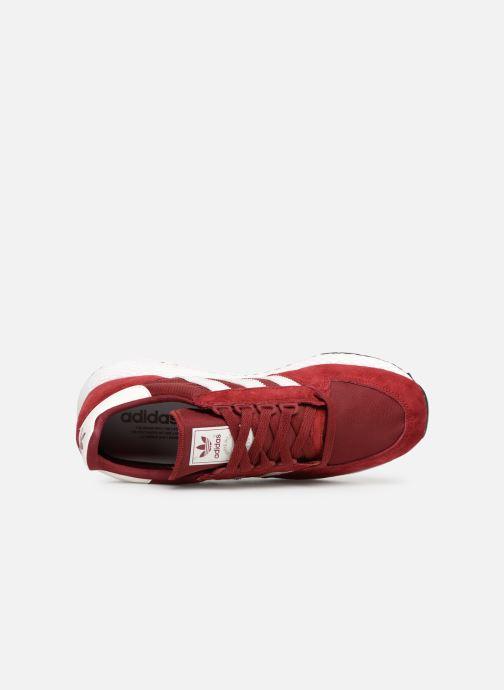Sneaker adidas originals Forest Grove weinrot ansicht von links
