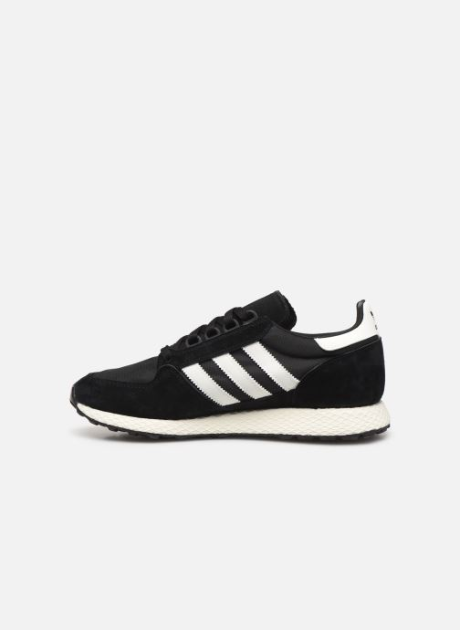 Baskets adidas originals Forest Grove Noir vue face