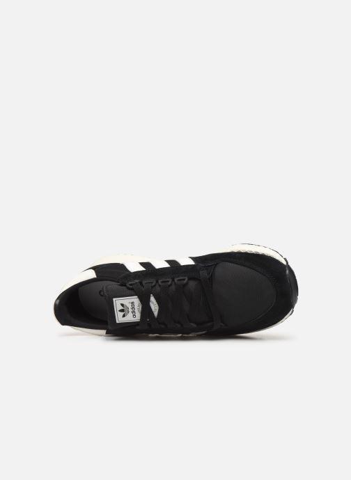 Baskets adidas originals Forest Grove Noir vue gauche