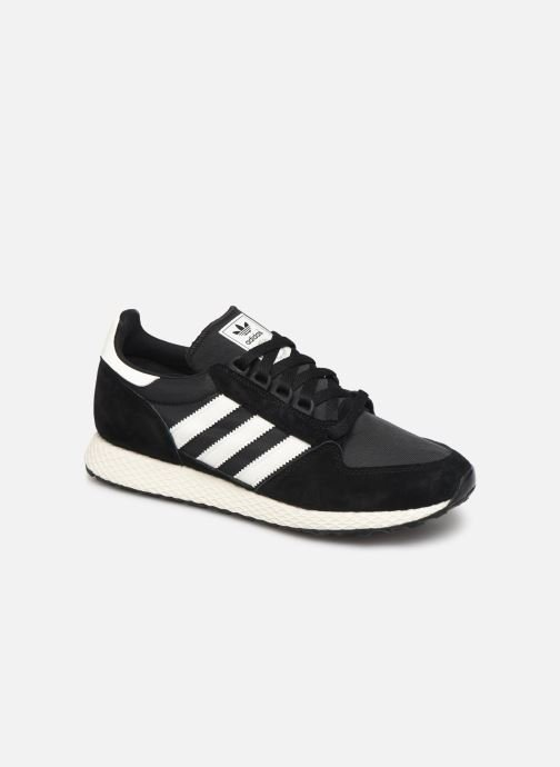 Baskets adidas originals Forest Grove Noir vue détail/paire
