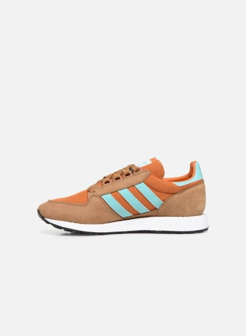 Baskets adidas originals Forest Grove Marron vue face