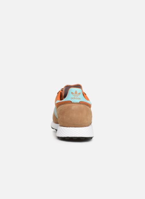 Baskets adidas originals Forest Grove Marron vue droite