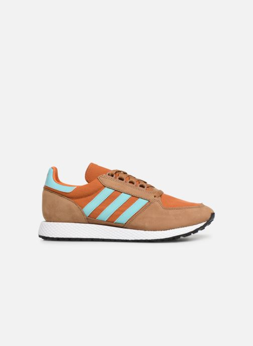 Trainers adidas originals Forest Grove Brown back view