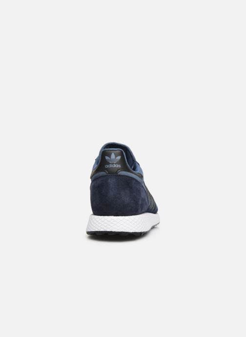 Trainers adidas originals Forest Grove Blue view from the right